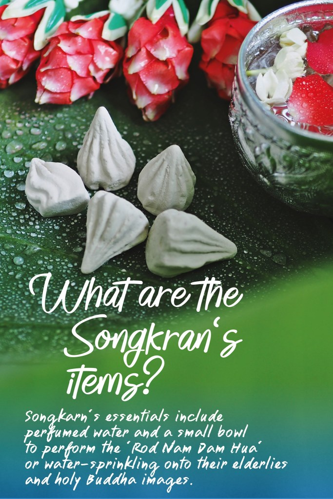 What are the Songkran's items?